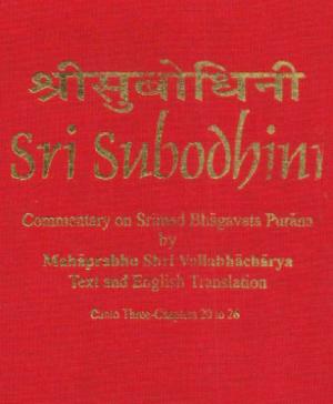 Shri Subodhiniji  Skandh 3 Adhyay 20-26 (1050)
