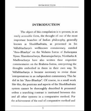 A Premier Of Anubhashya - Introduction (1894)